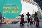 It won't be in Trafalgar Square, but a virtual version of West End Live will take place in June