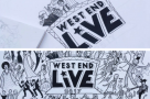 Our gif of awe for DramaticInking's #WestEndLive masterpiece