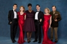Michael Brandon, Brenda Edwards, Danielle Hope & Clare Halse complete the cast of White Christmas