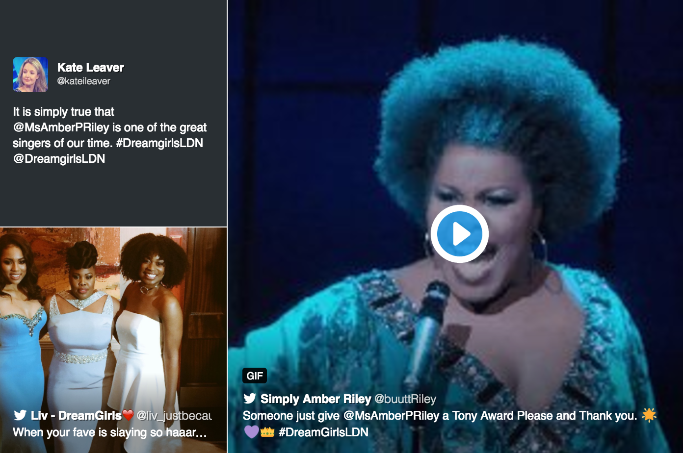 getsocial-our-fave-tweets-from-dreamgirls-west-end-premiere