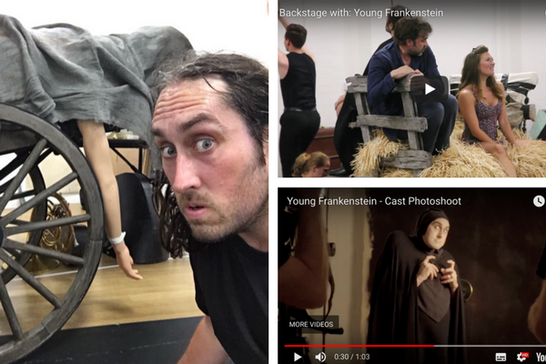 watch-go-behind-the-scenes-of-young-frankenstein-rehearsals-cast-photoshoot