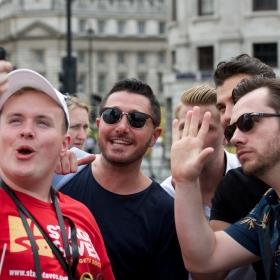 Barricade Boys at 2017 West End Live. © Peter Jones
