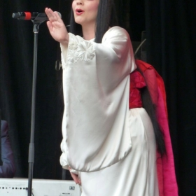 Rena Harms from the ENO performing at West End Live 2016
