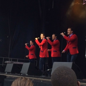 Jersey Boys performing at West End Live 2016