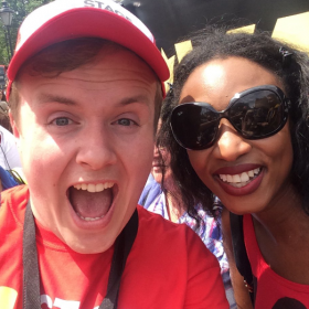 Beverley Knight with Perry O'Bree at West End Live 2016