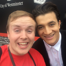 Dean John-Wilson with Perry O'Bree at West End Live 2016