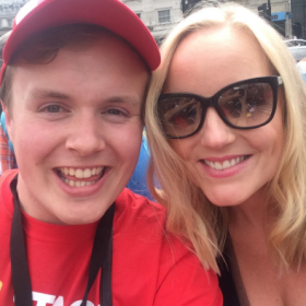 Kerry Ellis with Perry O'Bree at West End Live 2016