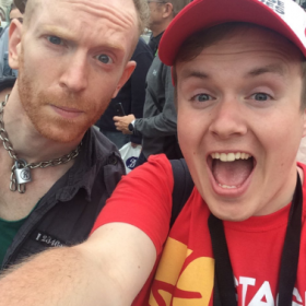Newton Faulkner with Perry O'Bree at 2016 West End Live
