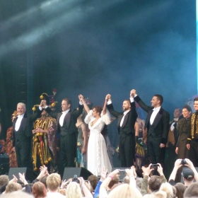 Lisa-Anne Wood, Ben Forster, Peter Lockyer, Jeremy Secomb & Scott Davies at West End Live 2016