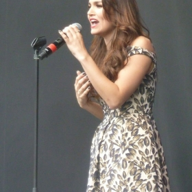 Samantha Barks performing live at West End Live 2016