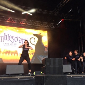 Bumblescratch performing at West End Live 2016