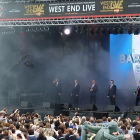 Barricade Boys performing live at West End Live 2016