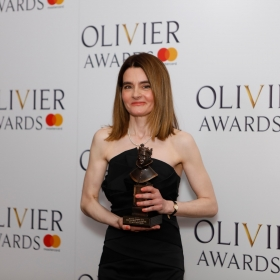 In the press room: Shirley Henderson. © Pamela Raith