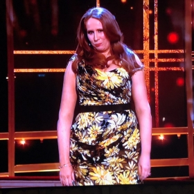 Catherine Tate hosting Olivier Awards