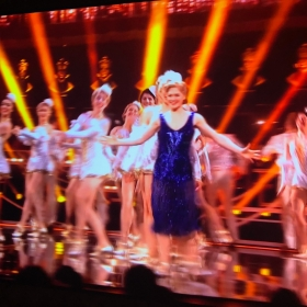 42nd Street performing at Olivier Awards
