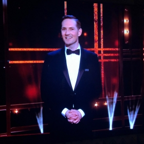Dan Gillespie Sells introducing Everybody's Talking About Jamie at Olivier Awards