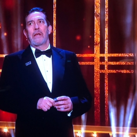 Ciaran Hinds introducing Girl from the North Country at Olivier Awards