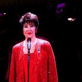 Chita Rivera performs Somewhere from West Side Story at Olivier Awards