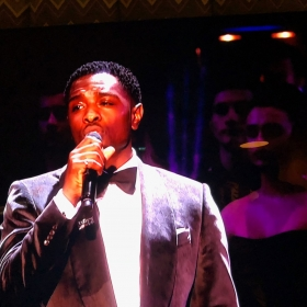 Adam J Bernard performs Somewhere from West Side Story at Olivier Awards