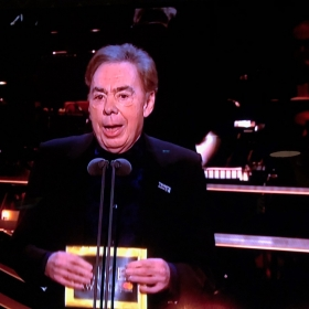 Andrew Lloyd Webber announces Best New Musical winner