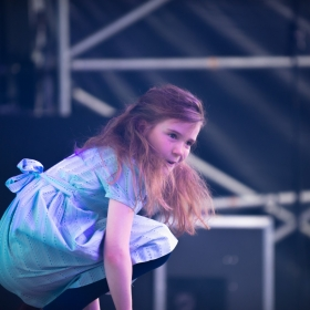 Lily-Mae Evans from Matilda the Musical at West End Live 2018