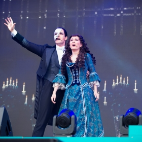 Kelly Mathieson & Ben Lewis from The Phantom of the Opera at West End Live 2018