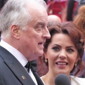 Clive Carter & Rachel Tucker, Olivier Awards, Royal Albert Hall, April 2019 © Darren Ross