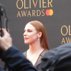 Rosalie Craig, Olivier Awards, Royal Albert Hall, April 2019 © Darren Ross