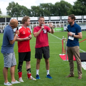 Pre-match interview by Mark Clemmit with Chris Key, Mark Sampson and Gareth Southgate