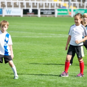 Half-time kids match