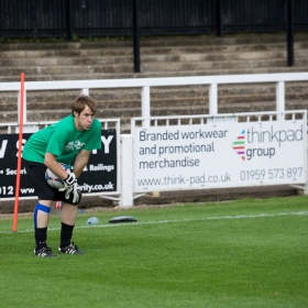 Steffan Harri - pre-match warm up