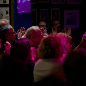 Audience at Phoenix Arts Club | © Peter Jones 2016