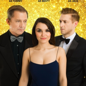 Maxwell Caulfield, Samantha Barks & Arthur Darvill for Honeymoon in Vegas