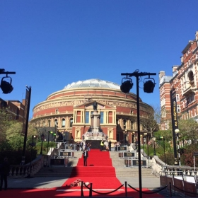 The red carpet. 2017 Olivier Awards