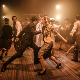 The cast in Allegro. © Scott Rylander