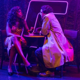 Gloria Onitiri and Sebastien Torkia in The Stripper. © David Freeman
