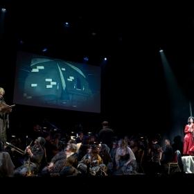 Ilan Galkoff, Darren Day, Jessica Martin & ensemble © Peter Jones 2016