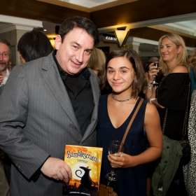 StageFaves competition Runner Up Isabella Pappas with Robert J Sherman © Peter Jones 2016