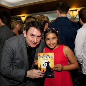 StageFaves competition Runner Up Lucy with Robert J Sherman © Peter Jones 2016