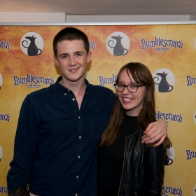 StageFaves competition winner Danielle Harrison & partner at the after-party © Peter Jones 2016