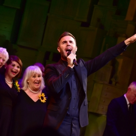 Gary Barlow at The Girls gala, 20 February 2017. © Alan Davidson