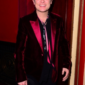 Mark Owen at The Girls gala, 20 February 2017. © Alan Davidson