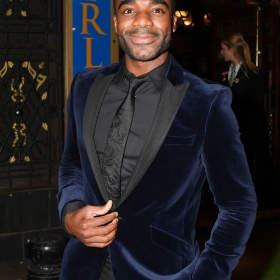 Ore Oduba at The Girls gala, 20 February 2017. © Alan Davidson