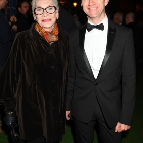 Sian Phillips at The Girls gala, 20 February 2017. © Alan Davidson