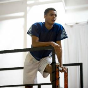 Layton Williams in Rent rehearsals. © Matt Crockett