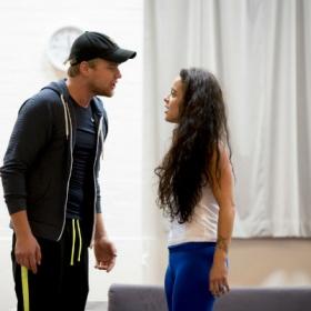 Ross Hunter & Philippa Stefani in Rent rehearsals. © Matt Crockett