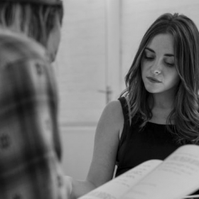 Cassie Compton in rehearsals for 27. © Nick Ross