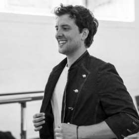 Jack Donnelly in rehearsals for 27. © Nick Ross