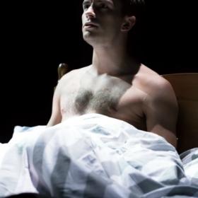Jonathan Bailey in The Last Five Years. © Scott Rylander