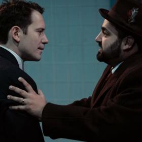 Gabriel Vick & Ralph Bogard in Promises, Promises. © Claire Bilyard
